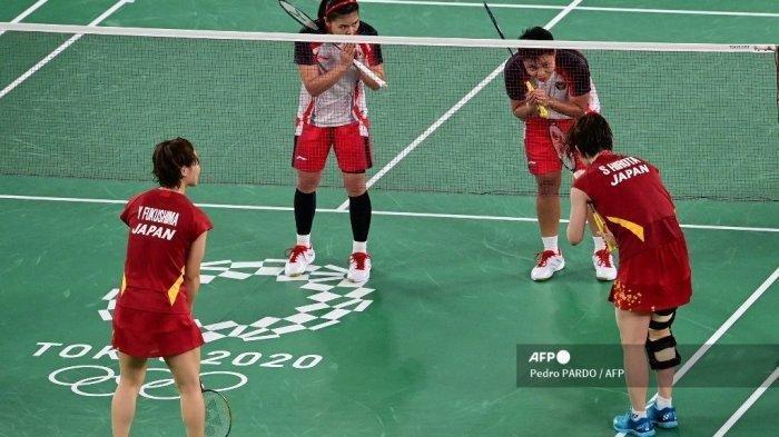 LIVE STREAMING Indosiar Olimpiade Tokyo 2020: Greysia Polii/Apriyani Tumpuan Ganda Putri Indonesia