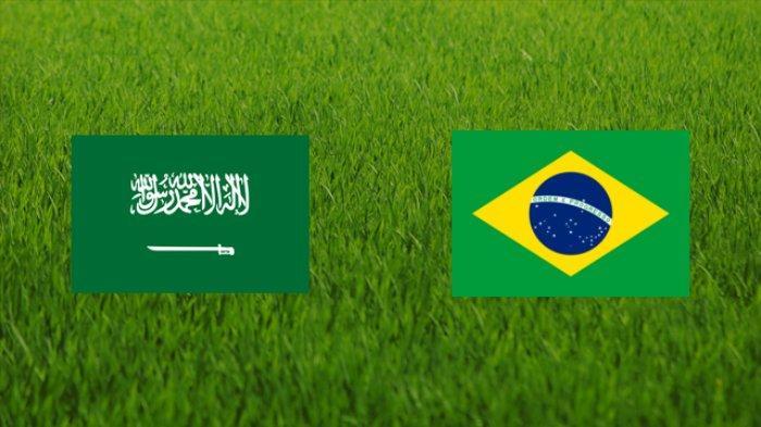 UPDATE SKOR Live Streaming Arab Saudi vs Brasil Olimpiade Tokyo 2020: Hasil 1-1 Sama Kuat