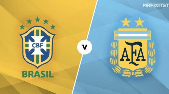 PREDIKSI Pertandingan Argentina vs Brasil Final Copa America 2021, Bukan Hanya Laga Neymar vs Messi