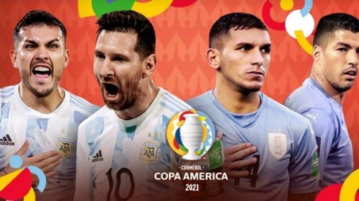 SEDANG TAYANG Live Streaming Argentina vs Uruguay Copa America 2021 Pagi Ini Jam 07 WIB, Intip Skor!