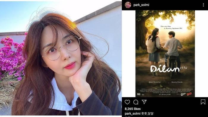 Lucunya Artis Korea Ini Menonton Film Indonesia Dilan 1990 di Netflix, Ungkap Ceritanya Manis
