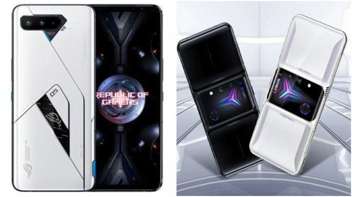 PERBANDINGAN Spesifikasi ASUS ROG Phone 5 vs Lenovo Legion Duel 2, Mana Ponsel Gaming Terkeren?
