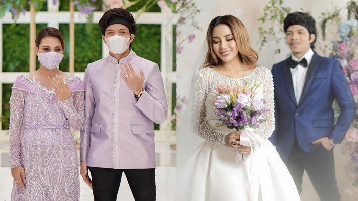 FAKTA-FAKTA Pernikahan Aurel Hermansyah dan Atta Halilintar, Harga Kebaya Miliaran hingga Gaun 10 Kg