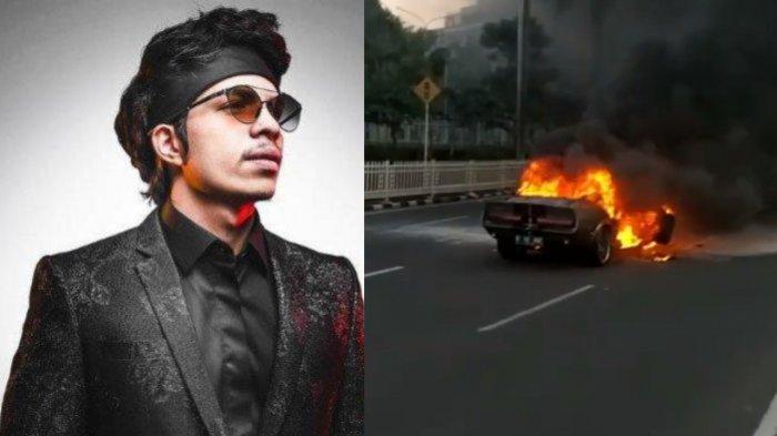 Mobil Mewah Terbakar Disebut Milik Atta Halilintar, Suami Aurel Akhirnya Buka Suara: 'Stay Safe'