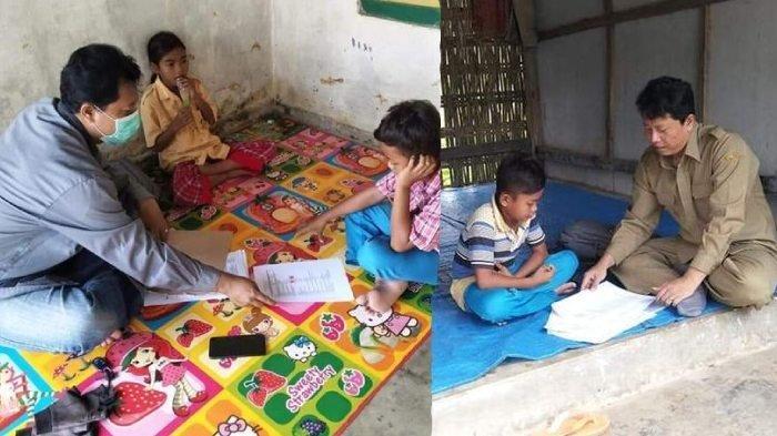 Murid Tak Punya Smartphone, Ini Kisah Viral Guru Avan Datangi Rumah Siswa di Tengah Wabah Corona