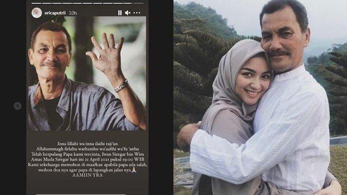 Duka Citra Kirana, Ayah Berpulang setelah Berjuang Lawan Kanker: 'Papa Udah Engga Nahan Sakit Lagi'