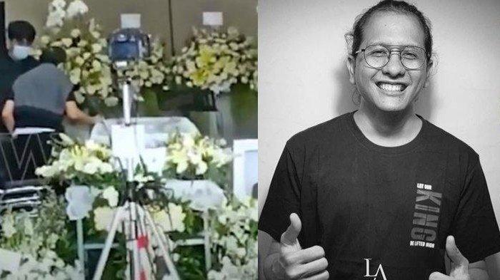 Hadiri Pemakaman Raditya Oloan, Ayah Joanna Alexandra Sampaikan Pesan: dari Debu, Kembali Jadi Debu