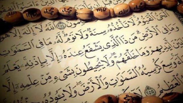 Dibaca Sebelum Tidur, Bacaan Ayat Kursi Lengkap Tulisan Arab, Latin & Arti, Simak Sederet Keutamaan