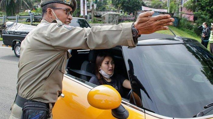 Ayu Ting Ting Terjaring Razia Ganjil Genap di Bogor, Bima Arya: Mau ke Mana Neng, Kok Putar Balik?