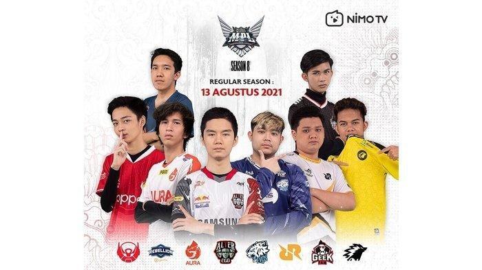 Babak Reguler season MPL ID Season 8.