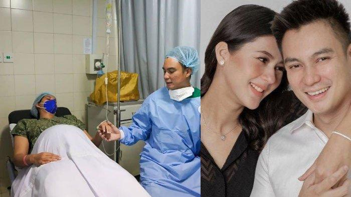 Paula Verhoeven Siap Melahirkan Anak Kedua, Baim Wong Terus Genggam Tangan Sang Istri: 'Tegang'