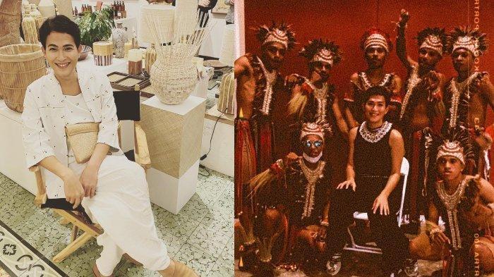 KABAR Oscar Lawalata, Mesra dengan Kekasih, Bangga Baju Rancangan Dipakai di Pembukaan PON Papua
