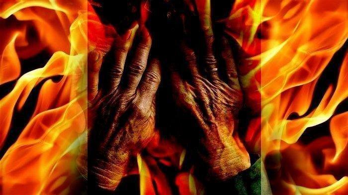 Gelagat Suami Eva, Perawat Dibakar Pria Misterius Dicurigai Keluarga, Kondisi Rumah Tangga Terkuak