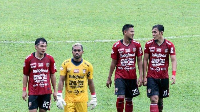 HASIL PERTANDINGAN Bali United vs Persita Tangerang Piala Menpora 2021, Serdadu Tridatu Main Imbang