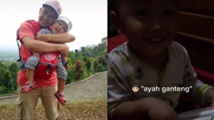 PILU Balita Rindu Minta Gendong Ayah, Cium Foto Mendiang di Buku Yasin, Sang Ibu: Ayah Udah di Surga