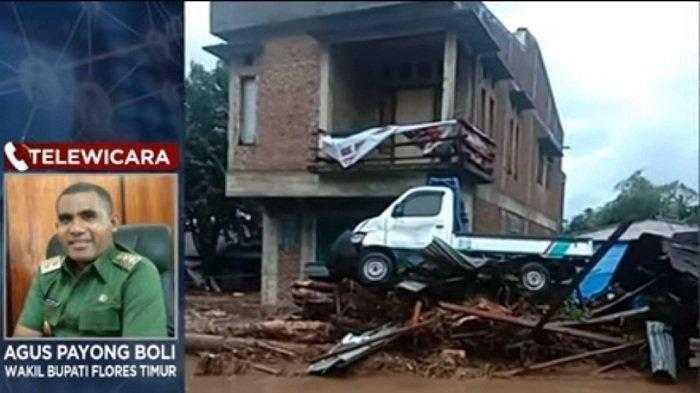 UPDATE Korban Banjir Bandang Adonara Flores Timur NTT, 41 Tak Bernyawa Tertimbun Longsor, 27 Hilang