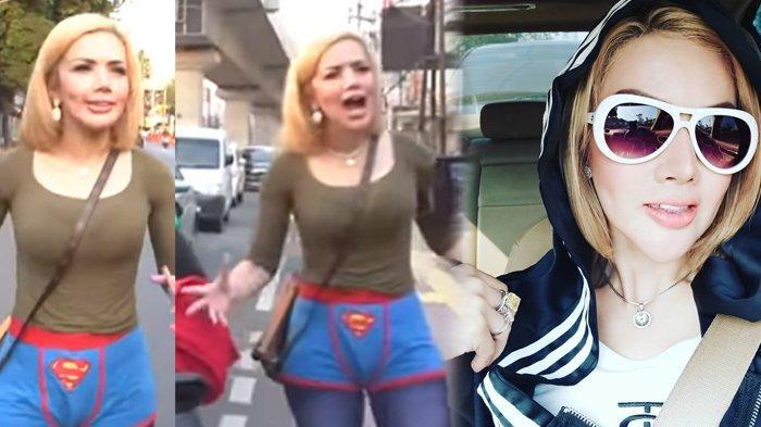 VIRAL Video Barbie Kumalasari Ngamen di Lampu Merah Pakai Kolor Superman, Malah Dapet Pujian