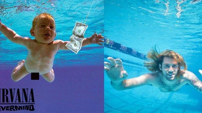 Bayi di Foto Album Nirvana Ini Sekarang Sudah Dewasa, Malu dan Menyesal Dulu Difoto Tanpa Busana