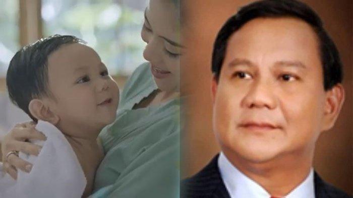 TEKA-TEKI Identitas Bayi yang Wajahnya Disebut Mirip Prabowo Subianto Terungkap, Sosok Aura Bintang
