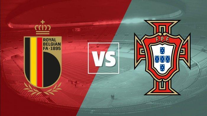 LIVE STREAMING Belgia vs Portugal Euro 2020 Babak 16 Besar, Bukan Hanya Laga Ronaldo vs Lukaku Saja