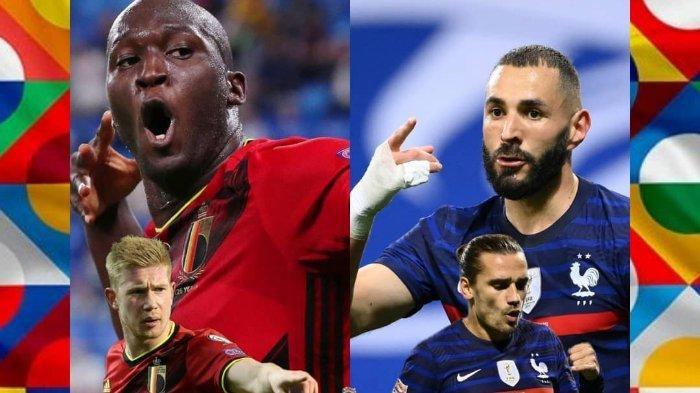 Belgia vs Prancis UEFA Nations League.