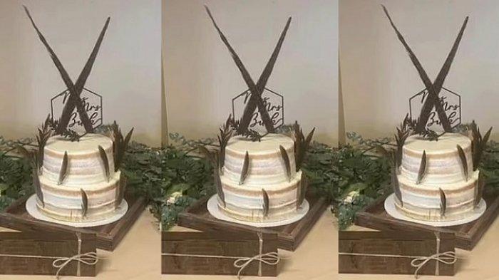 Bentuk kue pengantin ini di luar ekspetasi