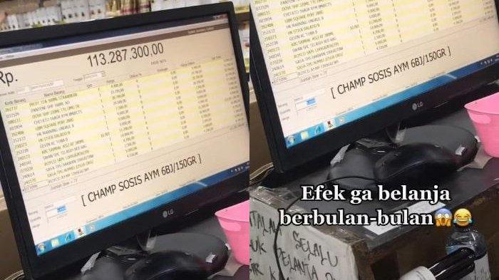 LAMA Tak Belanja, Sekali ke Mall Istri Habiskan Rp 114 Juta, Suami Syok, si Mbak Kasir Ikut Panik