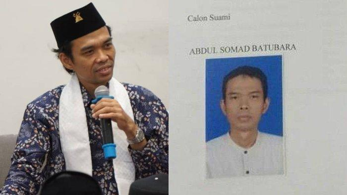 HEBOH Formulir Nikah Diduga Ustaz Abdul Somad, Terkuak Sosok Cantik sang Calon Istri, Masih 19 Tahun