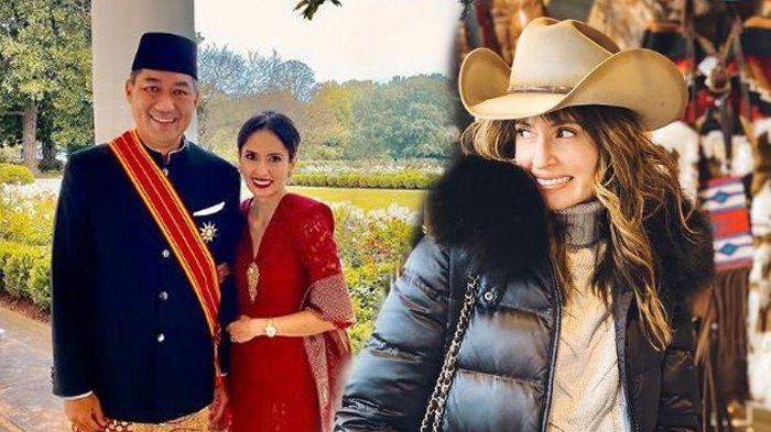 Sosok Bianca Adinegoro, Istri Mendag M Lutfi yang Curi Perhatian, Artis Populer 90-an, Awet Muda!