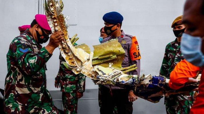 Fakta Penemuan Black Box, Lokasi Ditandai, Upaya Pengangkatan Bagian Pesawat Sriwijaya Air SJ 182
