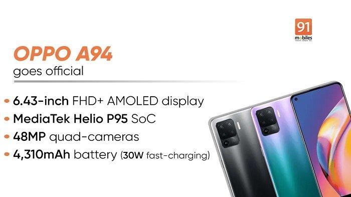 BOCORAN Spesifikasi Oppo A74 & A94, Generasi Baru Ponsel Oppo Bakal Bawa Versi 4G & 5G?