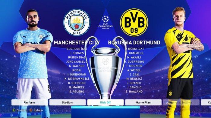 DORTMUND VS MAN CITY Live Streaming TV Online, Akhirnya Terkuak Strategi Guardiola, Nonton di Sini