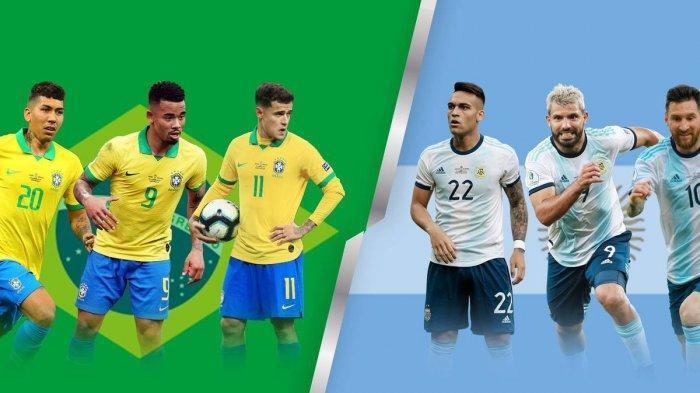 SKENARIO Final Idaman Brasil vs Argentina di Copa America 2021, Duel Superclasico Paling Ditunggu