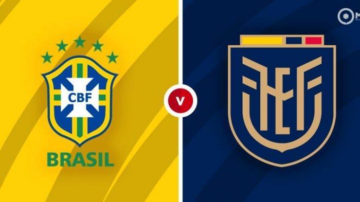 JADWAL Brazil vs Ekuador Copa America 2021, Tim Samba Tampil Sempurna Meski Minim Persiapan