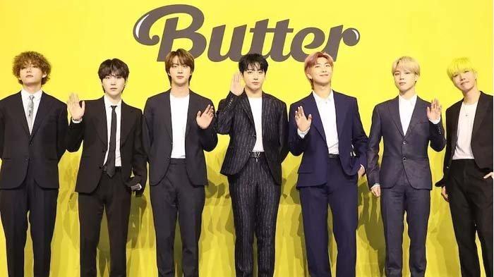 Tuai Prestasi, 'Butter' BTS Menangi Kategori Best Kpop di MTV VMA 2021, RM Ucap Terima Kasih ke ARMY