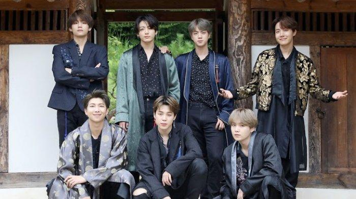 Kini Ngetop, Sebelum Debut Ternyata BTS Pernah Jadi Penari Latar Penyanyi yang Tidak Nyata Ini