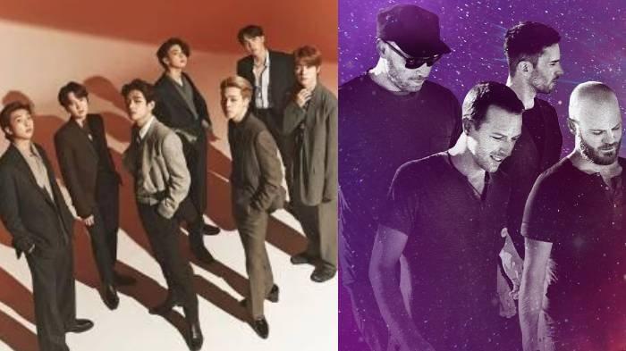 BTS dan Coldplay dikabarkan akan kolaborasi