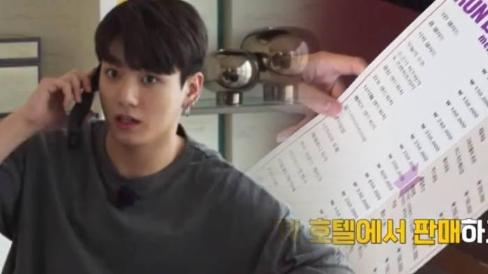 Kini Milyarder, Para Anggota BTS Tetap Kaget Melihat Harga Makanan Hotel yang Sangat Mahal