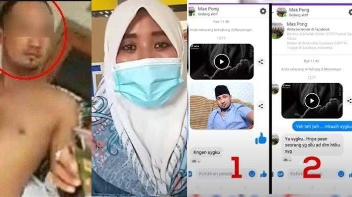 TAK BISA Mengelak! Chat Mesra Bu Kades ke Anak Buah Bocor, Lihat Staff Pakai Peci: Kangen Sayangku