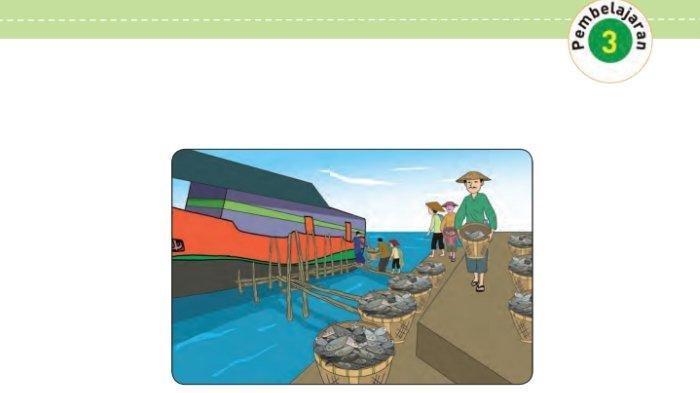 KUNCI JAWABAN Tema 9 Kelas 4 SD Halaman 66-74, Energi Apakah yang Mendorong Kapal untuk Bergerak?