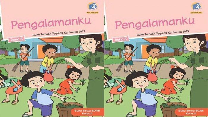 Buku Tematik SD Tema 5 Kelas 2.