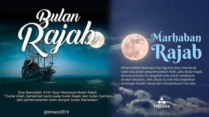 BESOK 1 Rajab 1442 H, Baca Doa Rasulullah di Bulan Rajab Malam Ini, Simak Amalan Lain Selain Puasa!