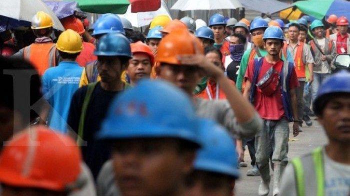 JAWABAN MARAH Buruh Setelah Menaker Umumkan Upah Minimum 2021 Tidak Naik 'Jangan Asal Pukul Rata!'