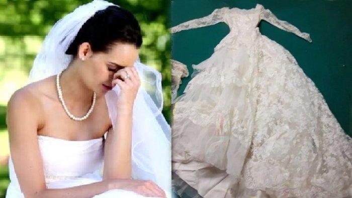 Ogah Kalah, Wanita Ini Ngotot Pakai Gaun Pengantin di Pernikahan Anaknya, Menantu Emosi: 'Bantu Aku'