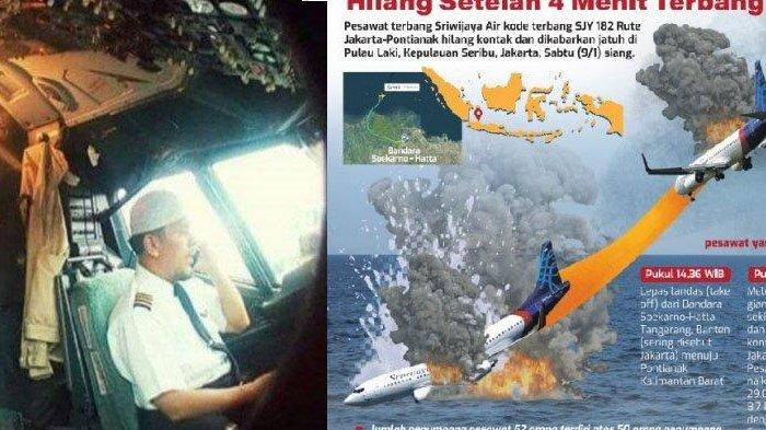 Tersisa 2 Menit Pilot Kapten Afwan Selamatkan Sriwijaya Air yang Menukik Tajam Diduga Elevator Copot