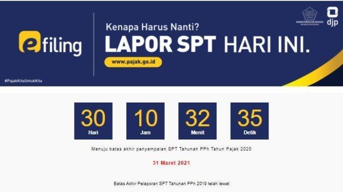 SIMAK Batas Akhir & Cara Lapor SPT Tahunan Secara Online, Siapkan NPWP & Login di www.pajak.go.id