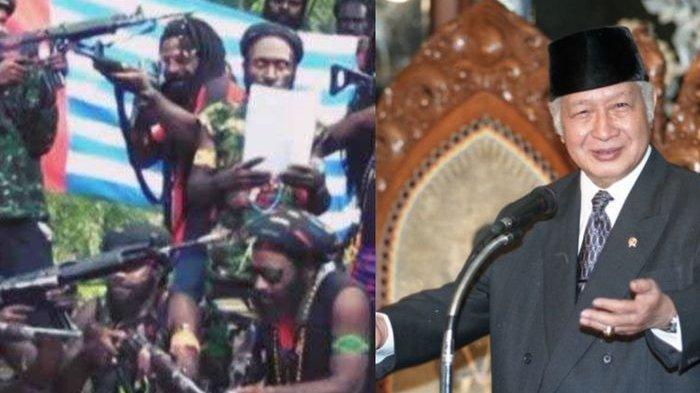 SULIT Dilawan Moncong Senjata, Kelompok Kriminal Bersenjata Papua Luluh, Gegara Nasihat Soeharto Ini