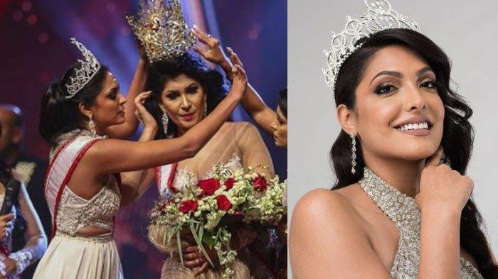 PROFIL Caroline Jurie, Mrs World 2020 yang Copot Paksa Mahkota Mrs Sri Lanka 2020, Pushpika De Silva