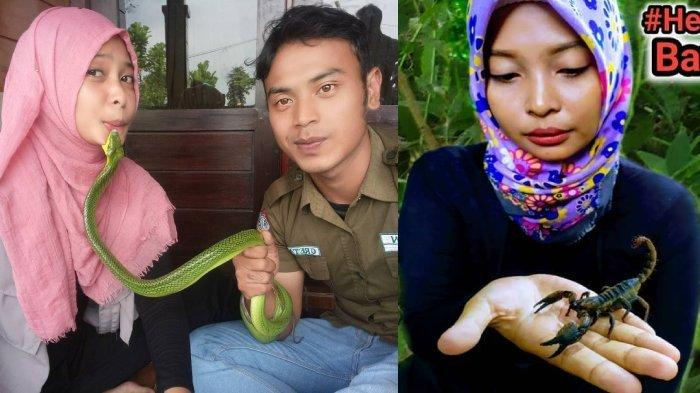 FOTO Lawas Digigit Ular Jadi Meme & Viral, Begini Kabar Si Wanita, Suami Bongkar Cerita di Baliknya