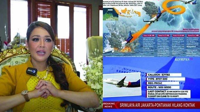JALAN-JALAN di Vila Pulau Seribu, Maia Estianty Syok Guncangan Keras, Ternyata Sriwijaya Air Jatuh